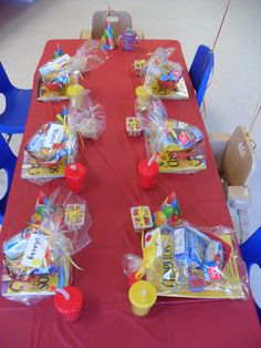 Cheerios birthday favors! what a great idea, we all love cheerios books may be too pricy but the rest looks cheap for 20 kids1