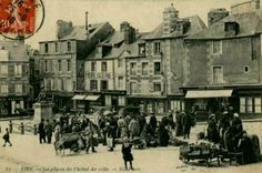 Vire Normandy before 1944  http://www.normandythenandnow.com/rise-like-a-phoenix-vire/