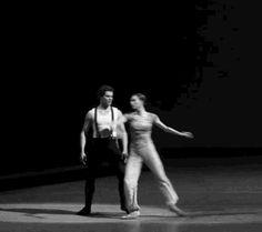 <Olga Smirnova as Bela and Igor Tsvirko as Pechorin in Yuri Possokhov's 'Hero of our Time' at the Bolshoi Theatre, July 22nd 2015>