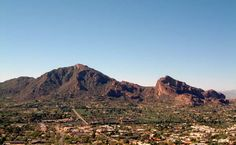 Camelback....thus the name!  We've hiked to the top a few times during our trips to AZ.  Beautiful views from the top!  Need to get out there again!