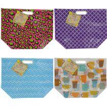 Bulk Large Colorful Plastic Fashion Tote Bags at DollarTree.com