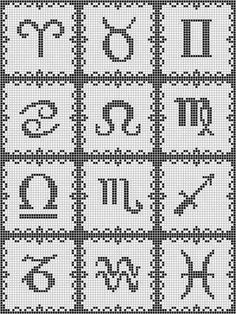 Embroidery Needles, Cross Stitch Embroidery, Embroidery Patterns, Beading Patterns Free, Loom Patterns, Signo Virgo, Cross Stitch Alphabet Patterns, Cross Stitch Beginner, Pixel Pattern