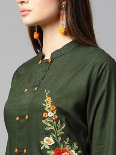 Plain Kurti Designs, Silk Kurti Designs, Kurta Designs Women, Kurti Designs Party Wear, Neckline Designs, Dress Neck Designs, Stylish Dress Designs, Collar Designs, Netted Blouse Designs