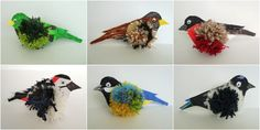 Spring Crafts For Kids, Diy For Kids, Kids Crafts, Diy And Crafts, Arts And Crafts, Paper Birds, Christmas Decorations, Christmas Ornaments, Garden Crafts