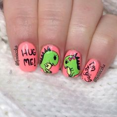 valentine by lynieczka #nail #nails #nailart | See more at http://www.nailsss.com/acrylic-nails-ideas/3/