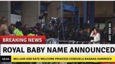 Royal baby name announced