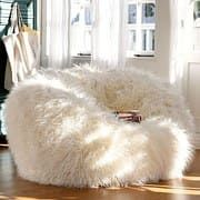 Adorable White Fur Bean Bag Chair For Teen Girl : Extraordinary Cute and Comfortable Teen Bedroom Chairs Shown as Bean Bag Chairs for Girls and Boys - large ladies bags, online shopping for bags, bag for bags *ad Chairs For Bedroom Teen, Girls Bedroom Furniture, Kids Bedroom, Bedroom Decor Ideas For Teen Girls, Comfortable Chairs For Bedroom, Bedroom Decor For Teen Girls Diy, White Bedroom Chair, Cute Bedroom Decor, Teen Decor