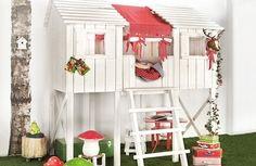 Children's indoor tree house