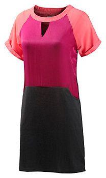 nümph Kurzarmkleid Damen pink/orange/schwarz im Online Shop von SportScheck kaufen