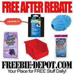 FREE AFTER REBATE – Household Items - Exp 10/13/13 @ Menards