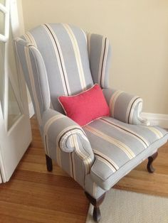 Beau Naomi Freier Interiors Wingback Chairs