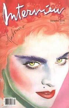 Interview Magazine cover, 1986