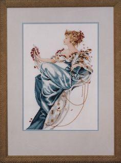 Mirabilia Cross Stitch Chart MD22 Summer Queen Cheap Shipping | eBay