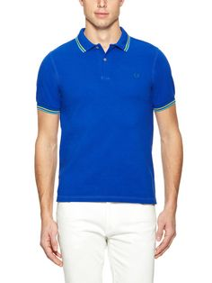 Fred Perry Slim-Fit Twin Tipped Polo