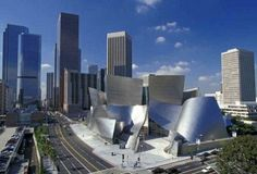 Walt Disney Concert Hall by Frank O. Gehry & Partners – Identified as one of the world's most sophisticated concert halls, the Walt Disney is positioned in Los Angeles, USA