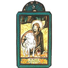 2017 St Roque The patron saint of dogs and dog lovers. Memorial Day / Feast Day: August He is a powerful intercessor for many things, so invoke his intercession for friends and relatives and DOGS who are ill. Catholic Saints, Patron Saints, Mexico Art, New Mexico, Sign Of The Cross, Art Forms, Folk Art, Dog Lovers, Art Prints
