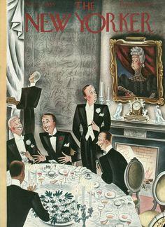 The New Yorker - Saturday, November 2, 1935 - Cover by Constantin Alajálov