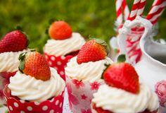 cupcake red velvet da chata