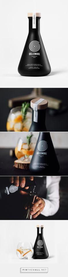 Gillemore - Magical gin by skinn branding agency
