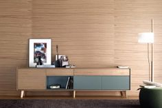 Contemporary sideboard / in wood / lacquered AURA by Angel Martí & Enrique Delamo TREKU Cabinet Furniture, Table Furniture, Living Room Furniture, Modern Furniture, Furniture Design, Sideboard Modern, Vintage Sideboard, Credenza, Contemporary Chest Of Drawers
