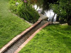 Backyard Drainage Ideas 50 super easy dry creek landscaping ideas you can make Cher Is Back On The Charts With Womans World Drainage Ditchdrainage Ideasdrainage Solutionsrainwater Drainagelandscape