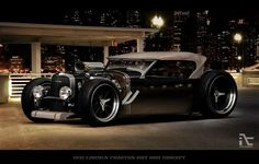 Concept Hot Rods | 1932 Lincoln Phaeton HOT-ROD Concept. Looks a tad ghetto, but I may ...