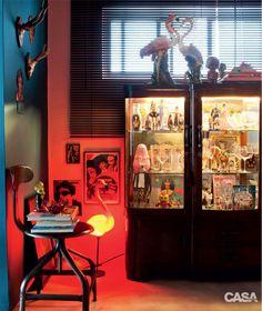 Dois apartamentos decorados com muita cor e bom humor - Casa