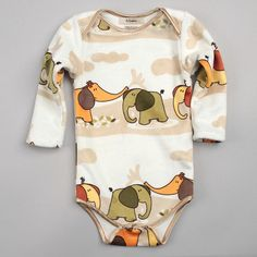 Long Sleeve Onezy $48.00 - This adorable onezie in 8 sweet patterns will keep little ones nice and cozy!