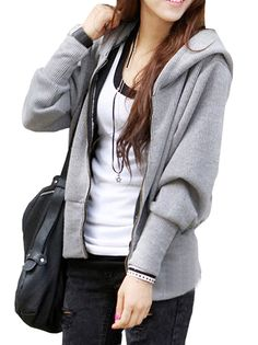 cb1e6a2068a Dark Grey 3X-Large YYW Exclusive Double Thick Real Baby Carrier Hoodie  Jacket Coat