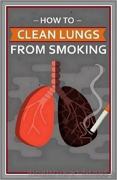 How To Clean Lungs From Smoking | 234 health and fitness
