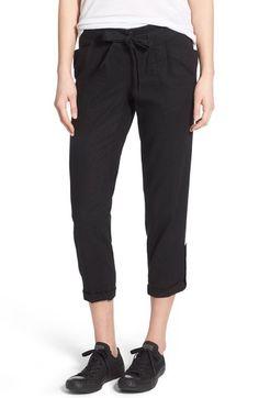 6550b5eebf41 Jolt Crop Linen Blend Pants