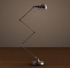 Atelier Scissor Task Floor Lamp - Bronze