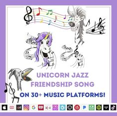 Unicorn Quotes, Unicorn Books, Unicorn Art, Picture Story, Picture Books, Unicorn And Fairies, Friendship Songs, Fantasy Story, Social Thinking
