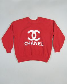 VTG Chanel Sweatshirt Medium by KYC Vintage