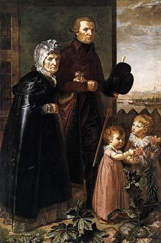 Philipp Otto Runge - The Artist's Parents  = The ragged old versus the hopeful young