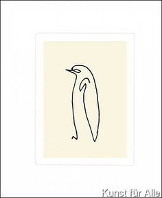 Pablo Picasso - Le pingouin, 1907