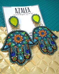 Crochet Earrings, Patches, Luxury, Diy, Jewelry, Earrings, Accessories, Do It Yourself, Jewellery Making
