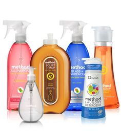 Method New Home Kit.  Love these products!!  Great way to get started on their products or gift for new home.  #crueltyfree #noanimaltesting #toxicfree
