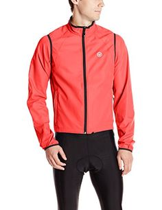 Men's Cycling Jackets - Canari Mens Optimo Convertible Jacket * You can get more details by clicking on the image.