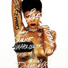 You guys feeling Rihanna's new album cover for Unapolgetic? #Rihanna