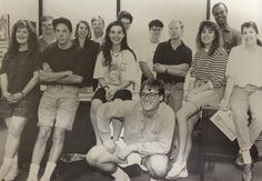 It's #tbt so meet the Maroon staff from 1991! Who was who? We're hoping for a tag or two. — with John Davis, Michael wilson, Tom bell, Val mckay, Erin moore stephens, Kelly davis, Ted sheppard, Courtney Sullivan and Elizabeth Davis.