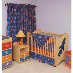 Room Magic Star Rocket Crib Bedroom Set - Star Rocket Crib Bedroom Series