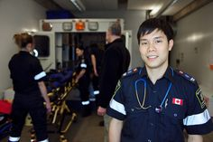 Centennial Paramedic graduates enjoy an excellent reputation in the field. Your career advantage begins with hands-on training that covers emergency, medical, trauma and psychological situations in state-of-the-art lab facilities located in Centennials Science and Technology Centre campus. Courses are taught by paramedics who are actively working in the field.