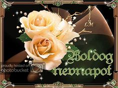Animated Gif by Lady Moon Birthday Name, Happy Birthday, 1 Gif, Gif Photo, Name Day, Cool Websites, Beautiful Roses, Animation, Christmas Ornaments