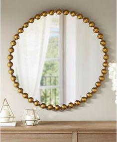 Mirror Crafts, Home Decor Mirrors, Mirror Art, Diy Mirror, Wall Decor, Wall Mirrors Diy, Interior Mirrors, Bathroom Mirrors, Objet D'art