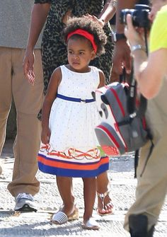 Blue Ivy at Picasso Museum in Antibes,France Sept. 9th,2014