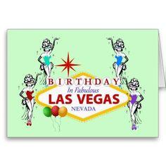 21 best las vegas birthday cards images on pinterest anniversary