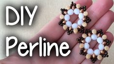 "DIY PERLINE ""Principio Creativo"". Tutorial per PRINCIPIANTI  Pellet beads"