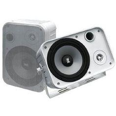 Pyramid 500 Watts 2-Way Indoor/Outdoor Waterproof Speaker System