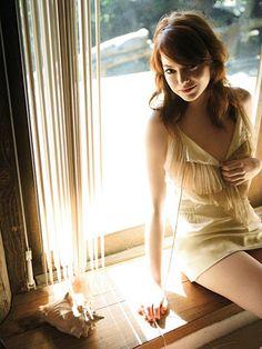 Emma Stone. GQ photo shoot